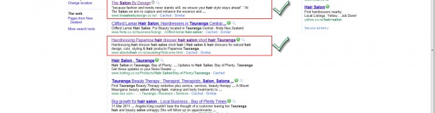 Front Page Google – Our Clients Hold Top 3 Spots